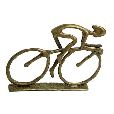 Danya B ZD480 Cyclist Cast Bronze Sculpture