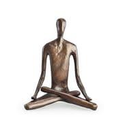 Danya B ZD5793S Yoga Lotus Bonze Sculpture