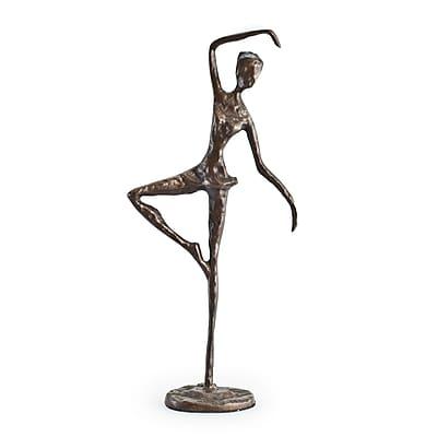 Danya B ZD633S Standing Ballerina Bronze Sculpture
