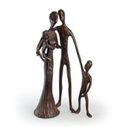 Danya B ZD6780 Family of Four Cast Bronze Sculpture