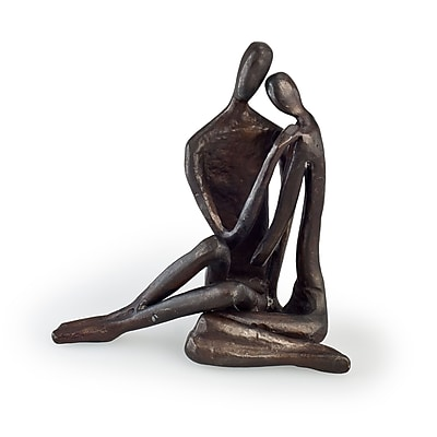 Danya B ZD6786 Couple Embracing Cast Bronze Sculpture