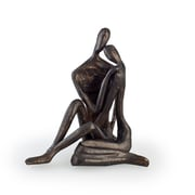 Danya B ZD6786S Small Couple Embracing Cast Bronze Sculpture