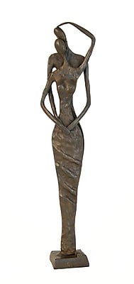 Danya B ZD7219 Couple Caress Cast Bronze Sculpture