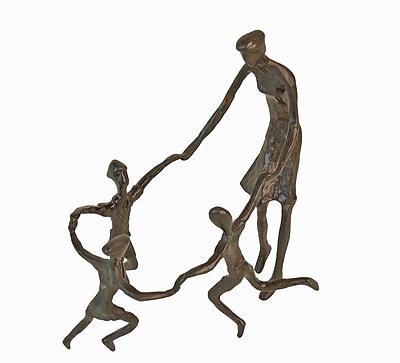 Danya B ZD8064 Ring Around the Rosie Cast Bronze Sculpture