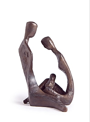 Danya B ZD9035 Couple with Baby Sculpture