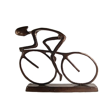 Danya B ZL480L Large Cyclist Sculpture