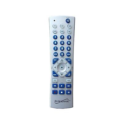Supersonic® SC-26 Universal Remote Control, Silver