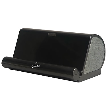 Supersonic® SC-11SP Portable Speaker System/Stand With Auxiliary Input, Black