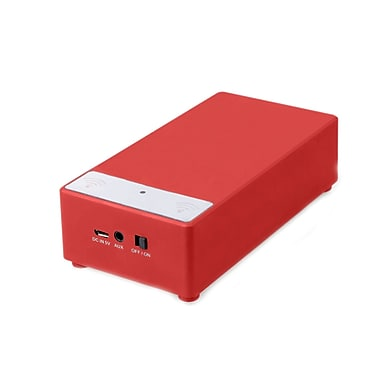 Supersonic® SC-1345 Portable Induction Magic Speaker, Red