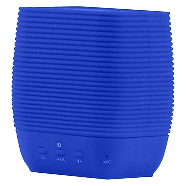 Supersonic® SC-1362BT Portable Bluetooth Rechargeable Speaker With Micro SD Card Slot, Blue