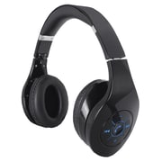 Supersonic® Bluetooth Rechargeable Headphone With Portable Speaker, Black