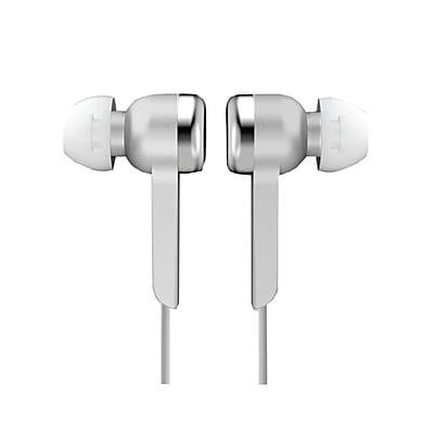 Supersonic IQ-113SILVER Digital Stereo Earphone, Silver