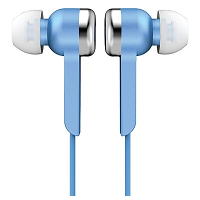 Supersonic IQ-113BLUE Digital Stereo Earphone, Blue