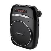 Supersonic® SC-1370 Portable PA System With USB, Micro SD and FM Radio