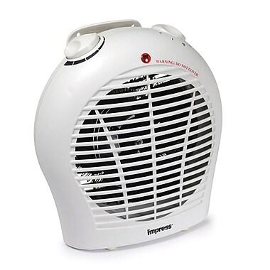 Impress IM-702 1500 W 2 Speed Fan Heater With Adjustable Thermostat