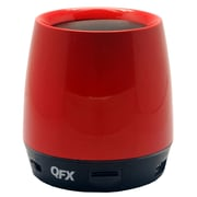 QFX® BT-106 Bluetooth Speaker With Microphone, Red