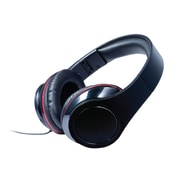 Craig® CHP5009 Foldable Stereo Headphone, Red
