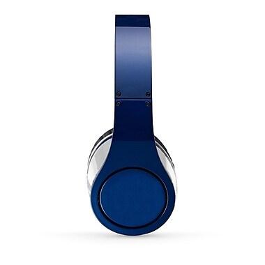 Craig CHP5009BL Foldable Stereo On-Ear Headphone, Blue