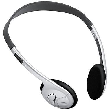 Zenex ZN-EP5723V Stereo Headphone with Volume Control, White