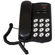 QFX® 93587954M TeleCraft™ Feature Phone, Black