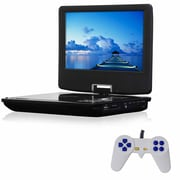 """QFX® 9"""" Portable Multimedia Player With Game Function (93588136M)"""
