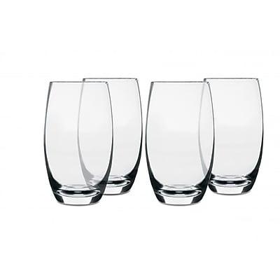 Isaac Mizrahi Western Isle 26 oz. 4 Piece Glass Tumbler Set