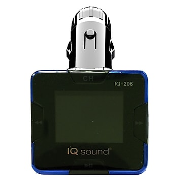 Supersonic® IQ-206 Wireless FM Transmitter With 1.4