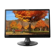 "PLANAR PLL2210MW-BK 22"" Black LED-Backlit LCD Monitor, DVI"