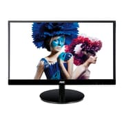 "AOC Monitor 27"" IPS Panel Full HD 1920x1080 Frameless 50M:1 VGA HDMI (MHL) DisplayPort Built-in 2Wx2 Speakers I2769VM"