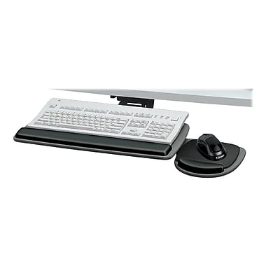 Fellowes Fully Adjustable Keyboard Manager w/Mouse Tray
