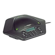 ClearOne 910-158-500 MAX Ex Single Line Corded Tabletop Conference Phone, Black