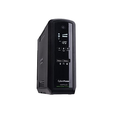 CyberPower CP1500PFCLCD PFC Sinewave UPS 1500VA, 900 Watt, 10-Outlets