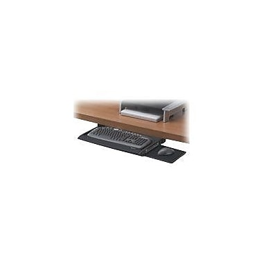 fellowes office suites deluxe keyboard drawer black - Keyboard Drawer