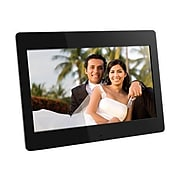 "Aluratek ADMPF114F 14"" Digital Photo Frame With 512MB Built-in Memory, Black"