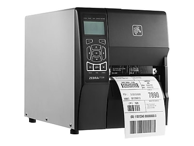 Zebra® ZT230 6 in/s USB/Serial Direct Thermal/Thermal Transfer Printer, 4.5