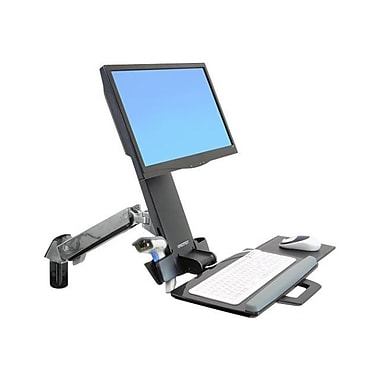 Ergotron StyleView 45-266-026 Sit-Stand Combo Arm for 24