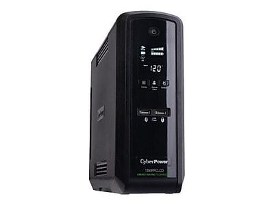 CyberPower CP1350PFCLCD PFC Sinewave UPS 1350VA, 810 Watt, 10-Outlets
