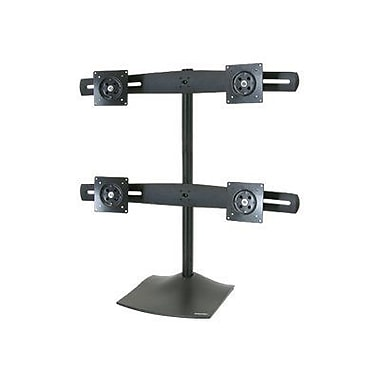 Ergotron DS100 33-324-200 Quad Desk Stand for 24