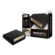 Penpower WorldCard Pro WCUPRO1EN Business Card Scanner, Black
