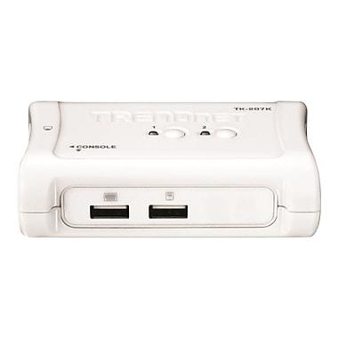 TRENDnet® TK-207K USB KVM Switch Kit, 2 Ports