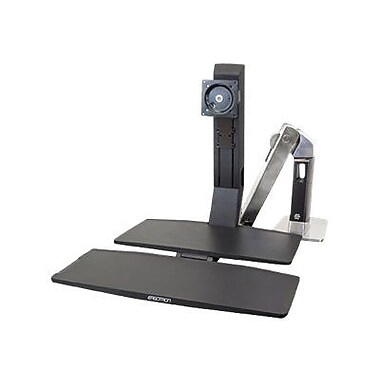 Ergotron WorkFit-A 24-314-026 Stand with Worksurface+ for 27