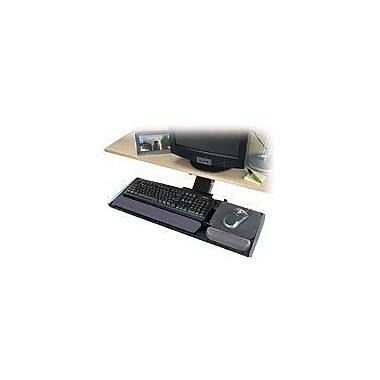 Kensington® Adjustable Keyboard Platform, Black/Graphite Gray, 30 1/2