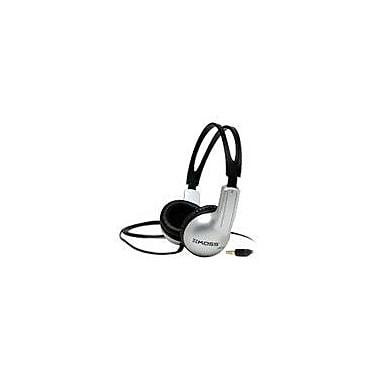 Koss UR10 Stereo On-Ear Headphone, Black/Silver