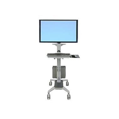 Ergotron® Neo-Flex® 24189055 WideView WorkSpace Cart, Up To 50 lbs.
