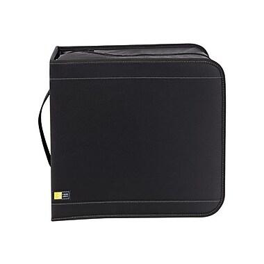 Case Logic® 320 CD Nylon Wallet, Black