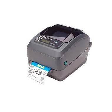 Zebra® GX420t 6 in/s Performance Direct Thermal/Thermal Transfer Printer, 4.25