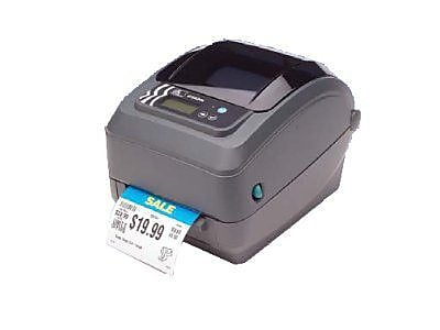 Zebra® GX42-102410-000 Direct Thermal Desktop Label Printer, 203 dpi (8 dots/mm)