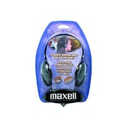 Maxell 190316 Neckband Headphone, Black