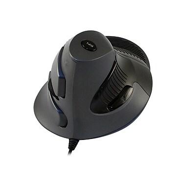 CST Vertical Ergonomic Mouse, Black/Gray