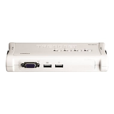 TRENDNET TK-407K USB KVM Switch Kit, 4 Ports
